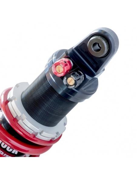 M-Shock 2, les molettes de réglage