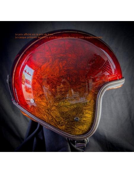 Couleur rouge pailletée - 18 couches de vernis (+350€)