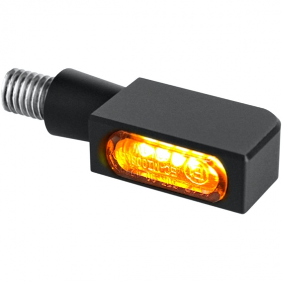 Micro-clignotants av/ar noir à LEDs par Heinz Bikes
