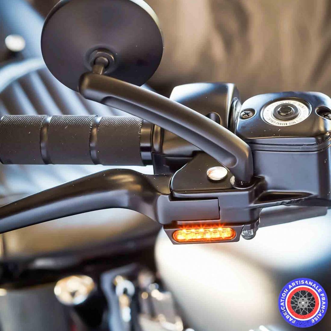 Petit Bleu Led Moto Feu de Position Vis
