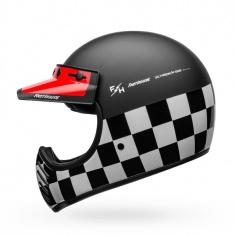 Casque Moto-3 Damier par...