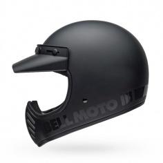 Casque Moto-3 Noir Mat par...