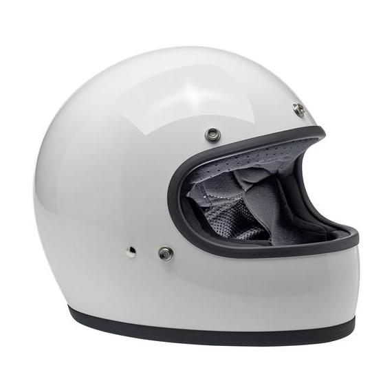 Gringo Blanc brillant casque intégral Biltwell®