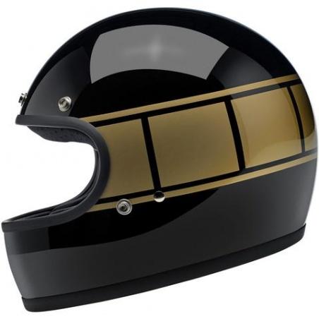 Gringo Noir et Or casque intégral Biltwell®