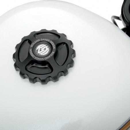 Bouchon de réservoir Gear Drive black OPS par Roland Sands Design