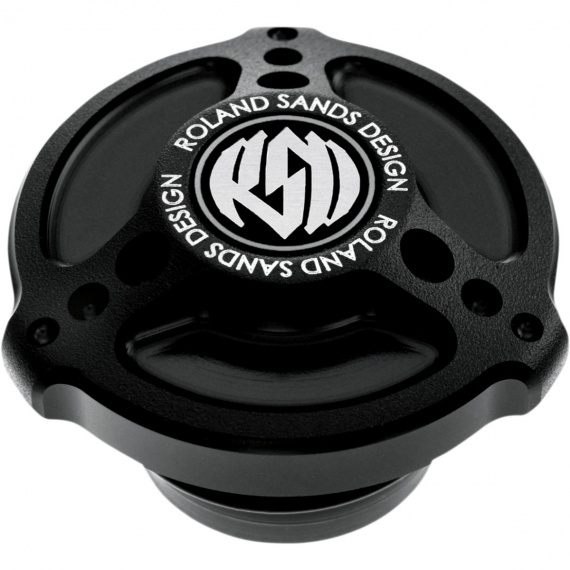 Bouchon de réservoir Tracker black OPS par Roland Sands Design