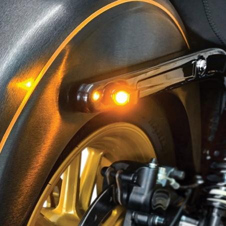 Micro-Clignotant Nano® arrière par Heinz Bikes