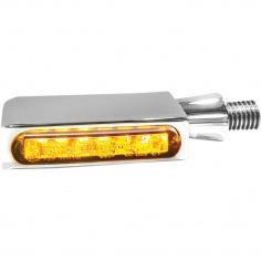 Mini-clignotants av/ar chrome à LEDs par Heinz Bikes