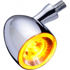Bullet 1000® PL éclairage jaune clignotant/position Chrome par Kellermann