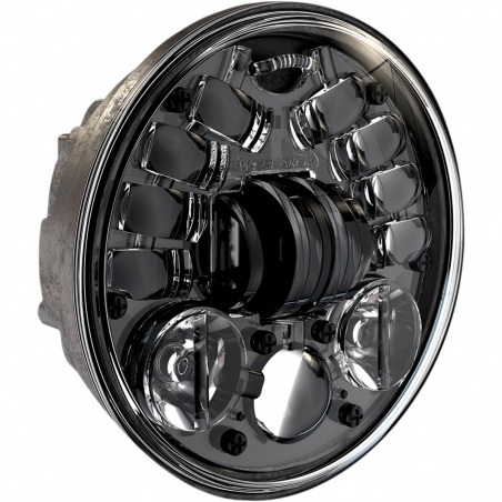 Phare à LED 14,5cm M8690 A2 Adaptatif noir par JW Speaker