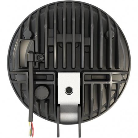Phare à LED 14,5cm M8690 Adaptatif Chrome à pied par JW Speaker