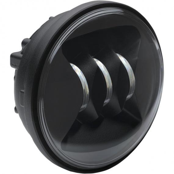 Phares anti-brouillard à LED 11,4cm L6045 Noir par JW Speaker