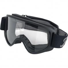 Masque/Lunettes moto noir/transparent par Biltwell®