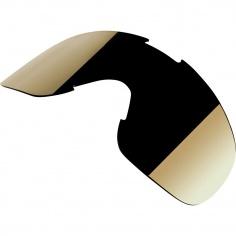 Ecran miroir chrome Or pour Masque/Lunettes Overland 2.0 par Biltwell®