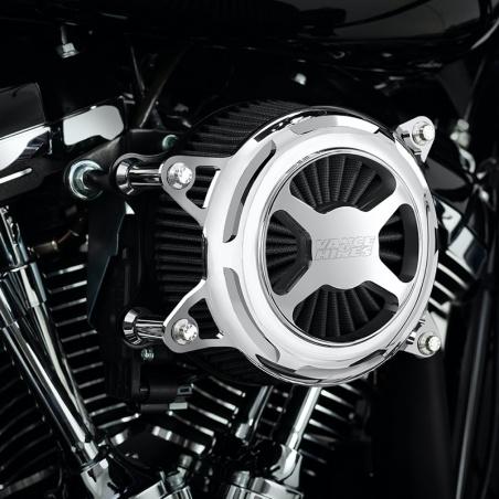 Filtre à air Softail M-Eight VO2-X Chrome par Vance & Hines®