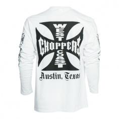 T-Shirt Manche longue Blanc by West Coast Choppers®