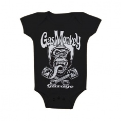 T-Shirt Baby Biker Monkey by Gas Monkey Garage®