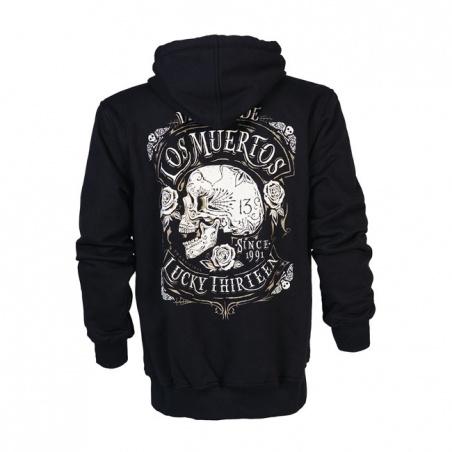 Sweat zip à capuche Los Muertos by Lucky 13®