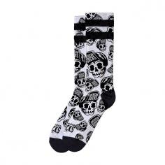 Chaussettes Skater Skull by American Socks®