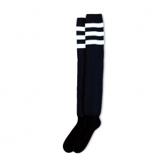 Chaussettes mi-cuisse Back in Black by American Socks®