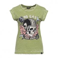 T-Shirt No Gas, No Glory by Queen Kerosin®