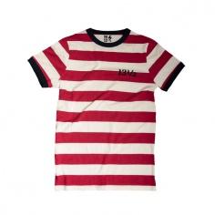 T-shirt Stripe TSR Ringer by 13 1/2 Magazine®