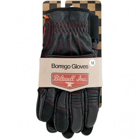 Gants Borrego en Cuir par Biltwell™ Homologués CE