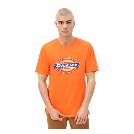 T-shirt Horseshoe Orange Éclatant par Dickies®