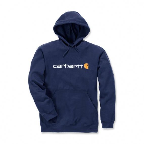 Sweatshirt à Capuche bleu par Carhartt®