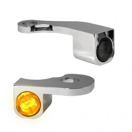 Nano-clignotants avant Chrome par Heinz Bikes®