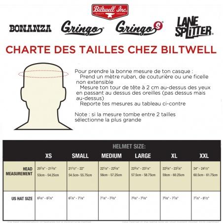 Gringo S Noir mat casque intégral Biltwell®
