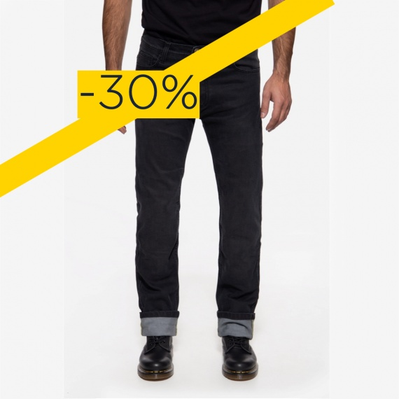 Destock Pantalon Noir Armalith® by King Kerosin®