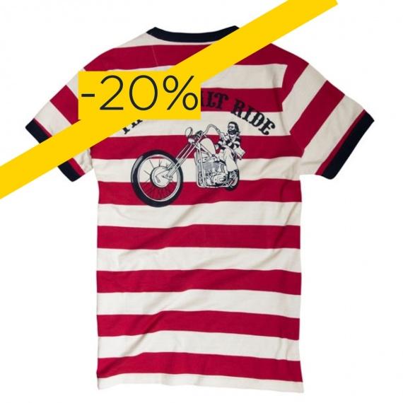 Destock T-shirt Stripe TSR Ringer by 13 1/2 Magazine®