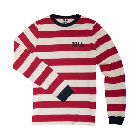 T-shirt ML Stripe TSR Ringer by 13 1/2 Magazine®