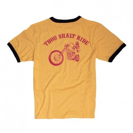 T-shirt Yellow Ringer by 13 1/2 Magazine®