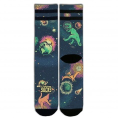 Chaussettes Space Dino by American Socks®