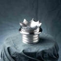 Couronne en aluminium poli