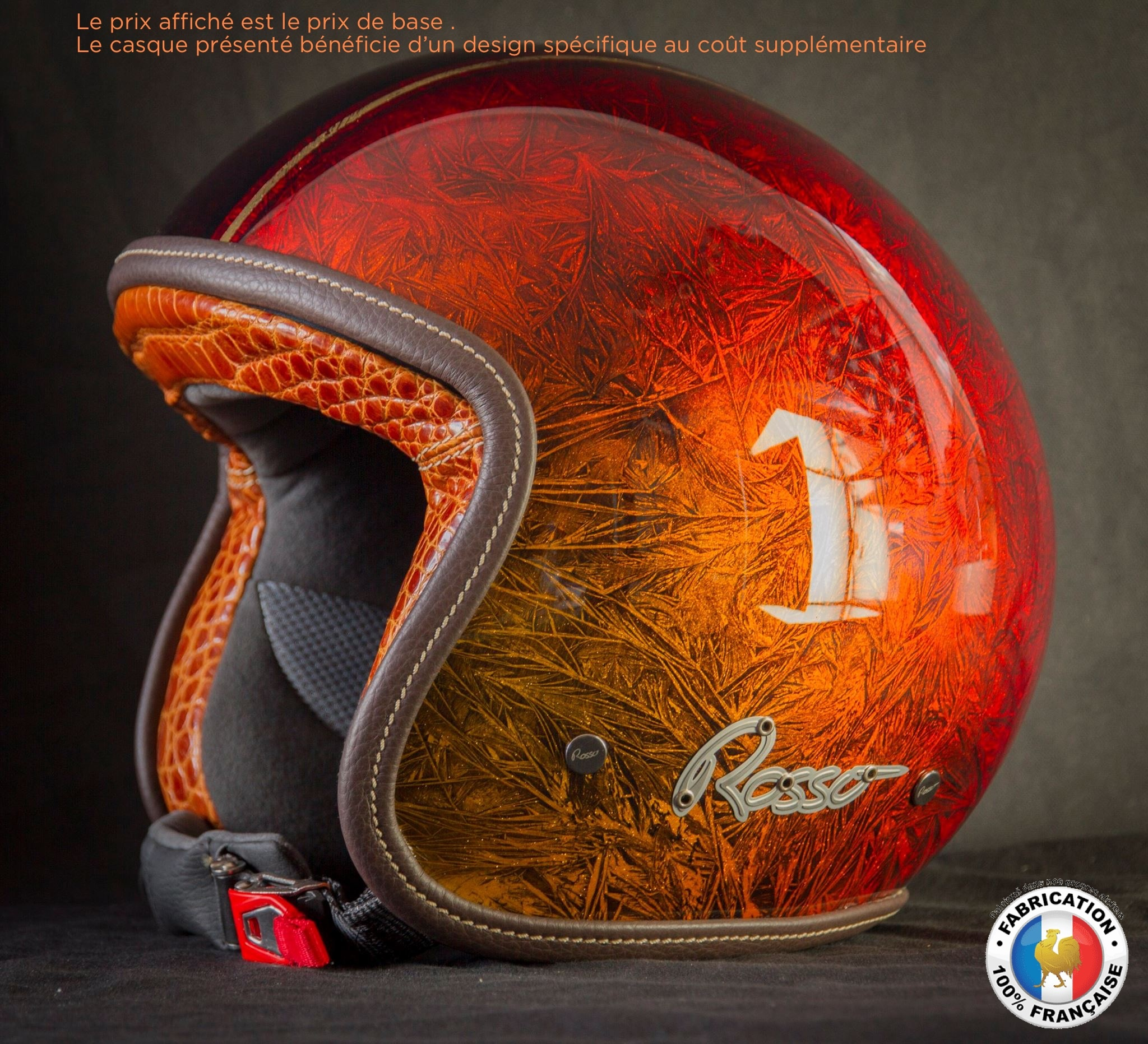 Casque Moto Jet Personnalisé Authentic Riders