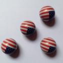 Bouchons de valves drapeau