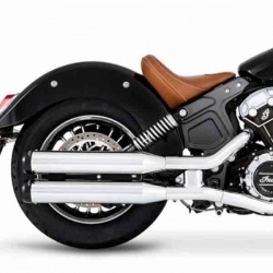 "Silencieux Slip-on 3,5"" pour Indian Scout"