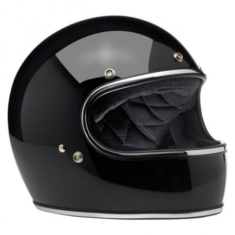 Gringo Noir brillant casque intégral Biltwell®
