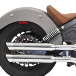 Silencieux Slip-on Chrome pour Indian Scout