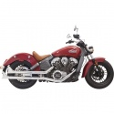 Silencieux Fishtail pour Indian Scout