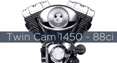 Twin Cam 1450 - 88ci