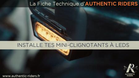 """Fiche technique """"Clignotants"""""""